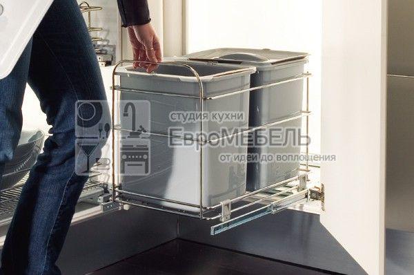 Набор для раздельного сбора мусора, в базу 400