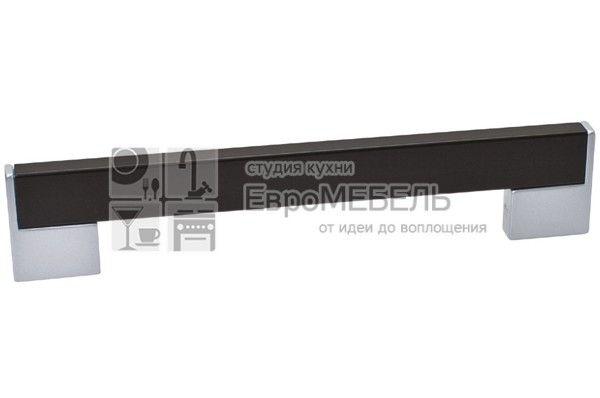 8.1073.0448.42-1894 Ручка-скоба 448мм, отделка хром матовый лакированный + венге